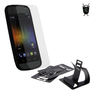 FlexiShield Imperial Case and Stand Pack for Galaxy Nexus