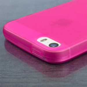 FlexiShield iPhone SE Gel Case - Pink