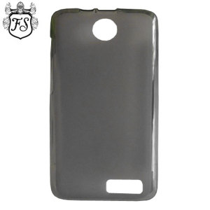 FlexiShield Lenovo A526 Case - Smoke Black