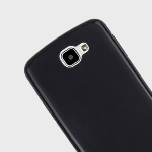 FlexiShield LG K4 Gel Case - Solid Black