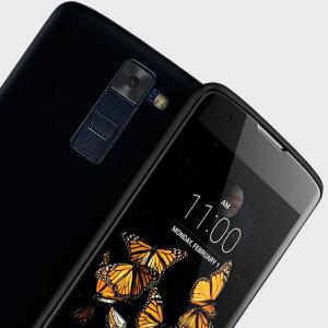 FlexiShield LG K8 Gel Case - Solid Black