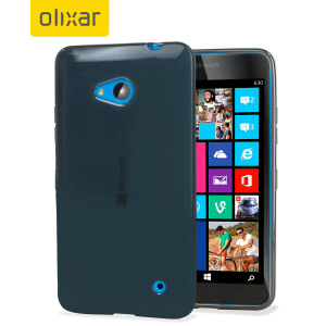Flexishield Microsoft Lumia 640 Gel Case - Smoke Black