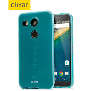 FlexiShield Nexus 5X Gel Case - Blue