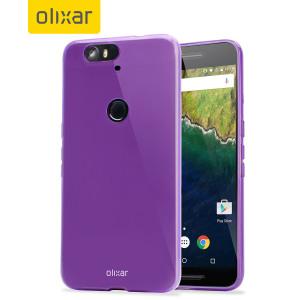 FlexiShield Nexus 6P Gel Case - Purple