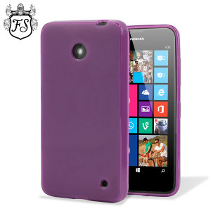 Flexishield Nokia Lumia 630 / 635 Gel Case - Purple