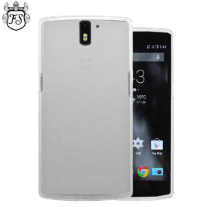 Flexishield OnePlus One Case - Frost White