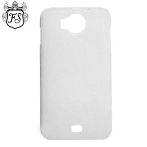 Flexishield Prestigio MultiPhone 5300 Duo Case - Frost White