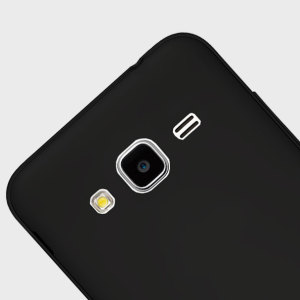 Flexishield Samsung Galaxy Amp Prime Gel Case - Solid Black