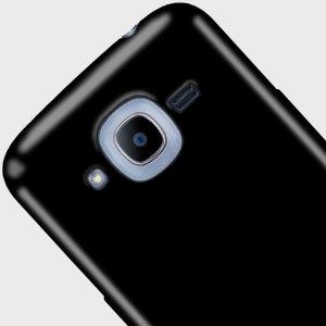 FlexiShield Samsung Galaxy J2 2016 Gel Case - Solid Black