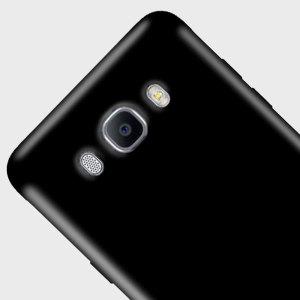 FlexiShield Samsung Galaxy J7 2016 Gel Case - Solid Black