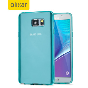 FlexiShield Samsung Galaxy Note 5 Gel Case - Blue