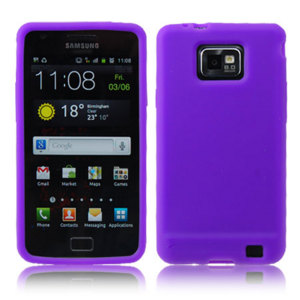 Flexishield Samsung Galaxy S2 i9100 - Purple