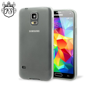 Flexishield Samsung Galaxy S5 Mini Case - Frost White