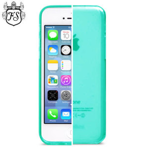 FlexiShield Skin Case for iPhone 5C - Mint