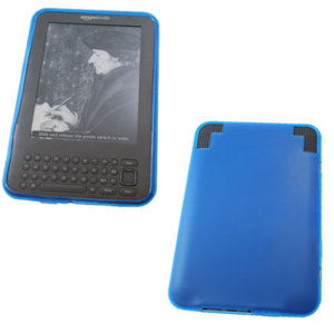 Flexishield Skin for Amazon Kindle Keyboard - Blue