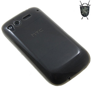 FlexiShield Skin For HTC Desire S - Solid Black