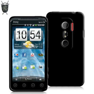 FlexiShield Skin For HTC EVO 3D - Transparent Black