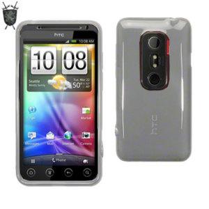 FlexiShield Skin For HTC EVO 3D - White
