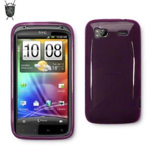 FlexiShield Skin for HTC Sensation / Sensation XE - Purple