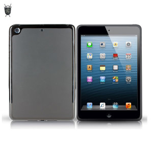 FlexiShield Skin for iPad Mini 2 / iPad Mini - Smoke Black