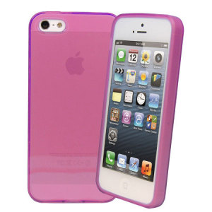 FlexiShield Skin For iPhone 5S / 5 - Purple