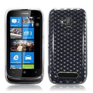 FlexiShield Skin For Nokia Lumia 610 - White