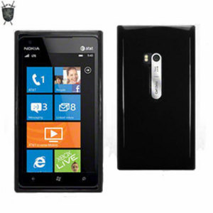Flexishield  Skin For Nokia Lumia 900 - Black