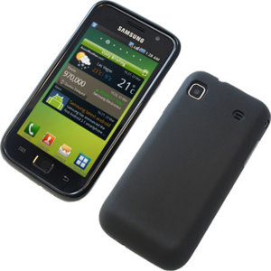 FlexiShield Skin For Samsung Galaxy S - Solid Black