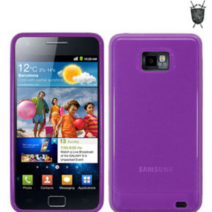 FlexiShield Skin For Samsung Galaxy S2 i9100 - Purple