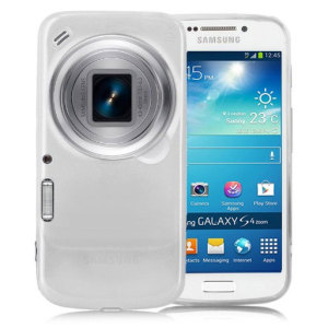 FlexiShield Skin For Samsung Galaxy S4 Zoom - White