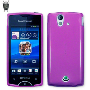 Flexishield Skin for Sony Ericsson Xperia ray - Purple