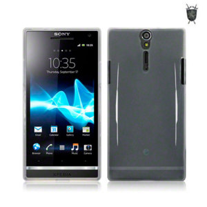 FlexiShield Skin For Sony Xperia S  - Clear