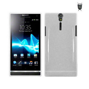 FlexiShield Skin For Sony Xperia S - Solid White
