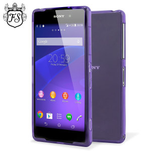 FlexiShield Skin for Sony Xperia Z2  - Purple