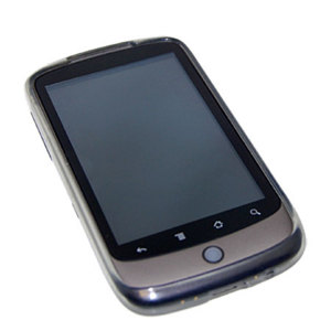 FlexiShield Skin For The Nexus One - Transparent Black