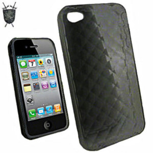 FlexiShield Skin iPhone 4S Case - Black
