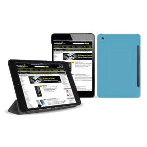 FlexiShield Smart Cover Case for iPad Mini 3 / 2 / 1 - Blue