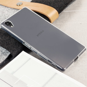 FlexiShield Sony Xperia X Gel Case - Frost White