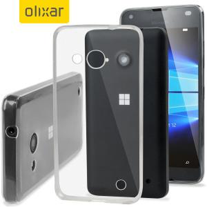 FlexiShield Ultra-Thin Microsoft Lumia 550 Gel Case - 100% Clear