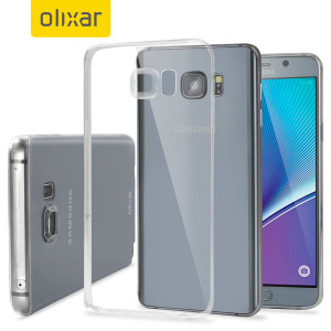 FlexiShield Ultra-Thin Samsung Galaxy Note 5 Case - 100% Clear