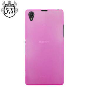 Flexishield Ultra Thin Skin for Sony Xperia Z1 - Pink