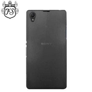 Flexishield Ultra Thin Skin for Sony Xperia Z1 - Smoke Black