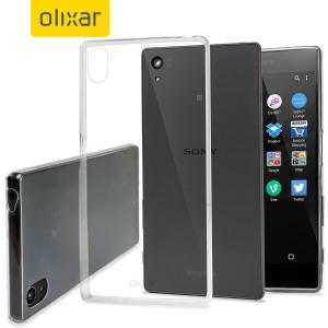 FlexiShield Ultra-Thin Sony Xperia Z5 Gel Case - 100% Clear