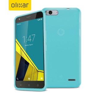 FlexiShield Vodafone Smart Ultra 6 Gel Case - Blue
