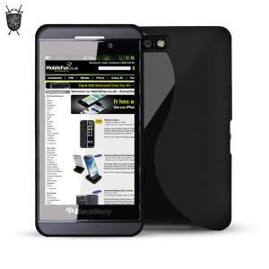 FlexiShield Wave Case for Blackberry Z10 - Black