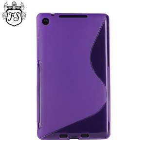 FlexiShield Wave Case for Google Nexus 7 2013 - Purple