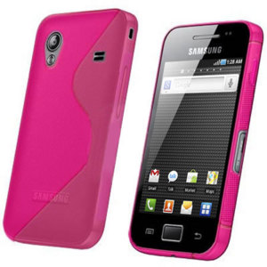 FlexiShield Wave Case For Samsung Galaxy Ace - Pink