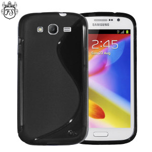 FlexiShield Wave Case for Samsung Galaxy Grand - Black
