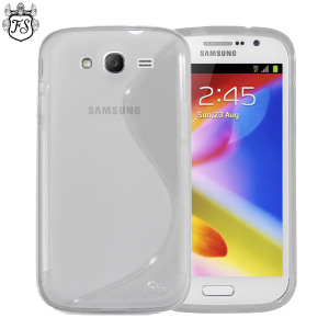 FlexiShield Wave Case for Samsung Galaxy Grand - Clear