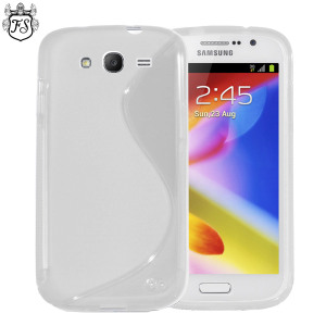 FlexiShield Wave Case for Samsung Galaxy Grand - White